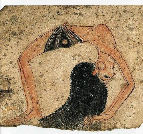 Egyptian dancing girl, 14th c BCE