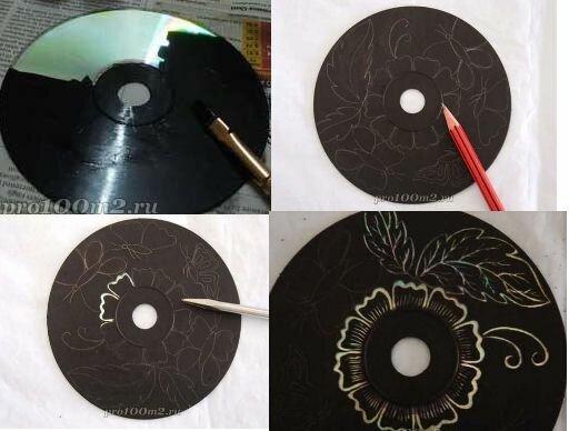 Как сделать на диск фото красивые