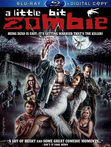 Немного зомби / Чуточку зомби / A Little Bit Zombie (2012) BDRip 720p + HDRip