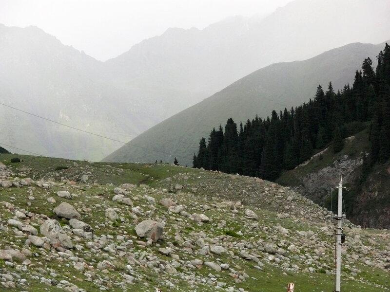 Семёновское ущелье, дорога на озеро Сют-Булак