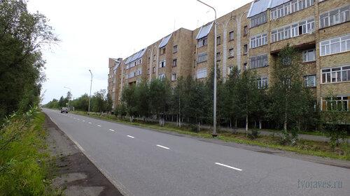 Фото города Инта №5468  Южная сторона Куратова 74 04.08.2013_12:54