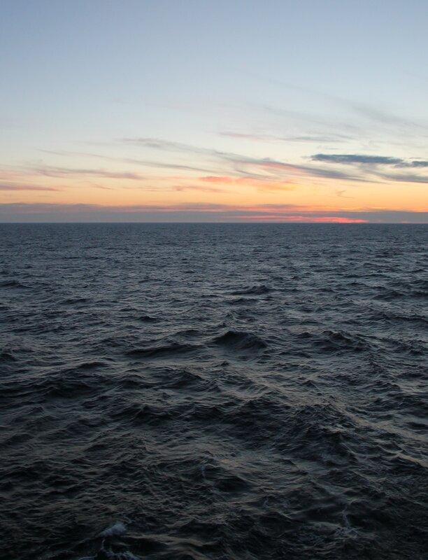 Утро на Балтике