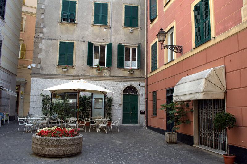 Италия, часть первая. Город Рапалло в восточной Лигурии