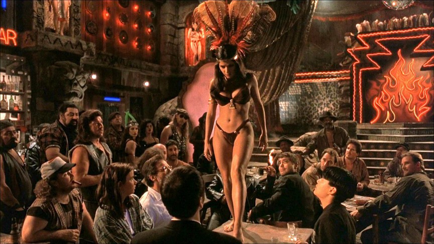 Сперва Сальма Хайек отказалась от роли, так как до смерти боялась змей. Но когда Роберт Родригез ска