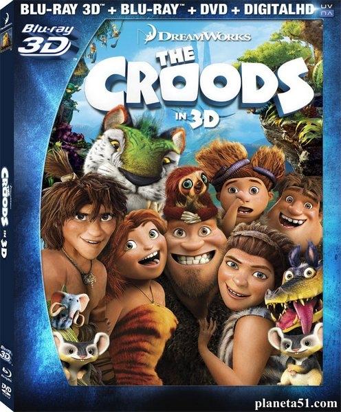 Семейка Крудс / The Croods (2013/BDRip/HDRip)