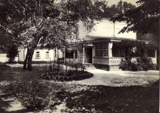 1908 год. Дом Л.Н.Толстого в Ясной Поляне. Фото К.К.Буллы