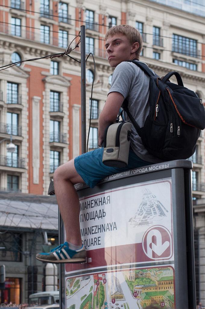 Митинг 18.07.2013 на Манежной площади. Против ареста Навального