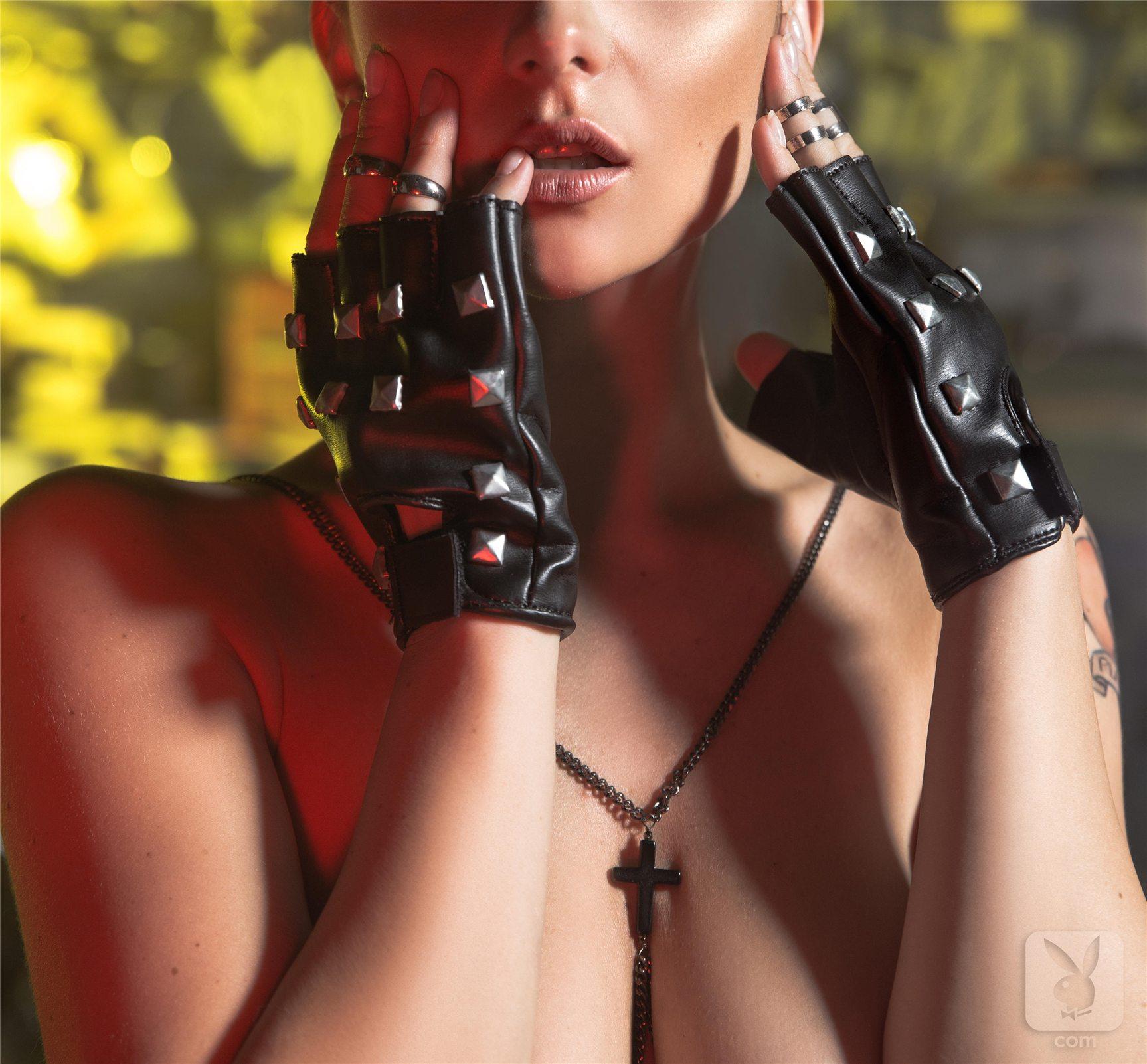 Ангелы Анархии - Евгения Диордийчук / Yevgeniya Diordiychuk, Katie Carroll and Jade Bryce - Angels of Anarchy by Playboy