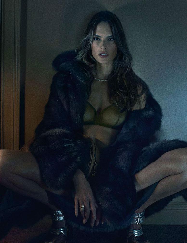 Богини и их сексуальность / Alessandra Ambrosio - The Goddesses by Fabien Baron