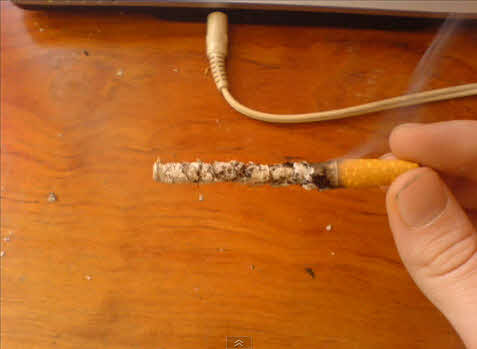 Секрет фокуса с сигаретой