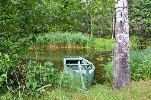 тишина лодка