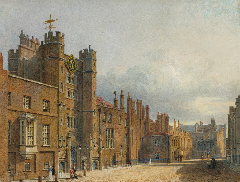 St James?s Palace: The north front