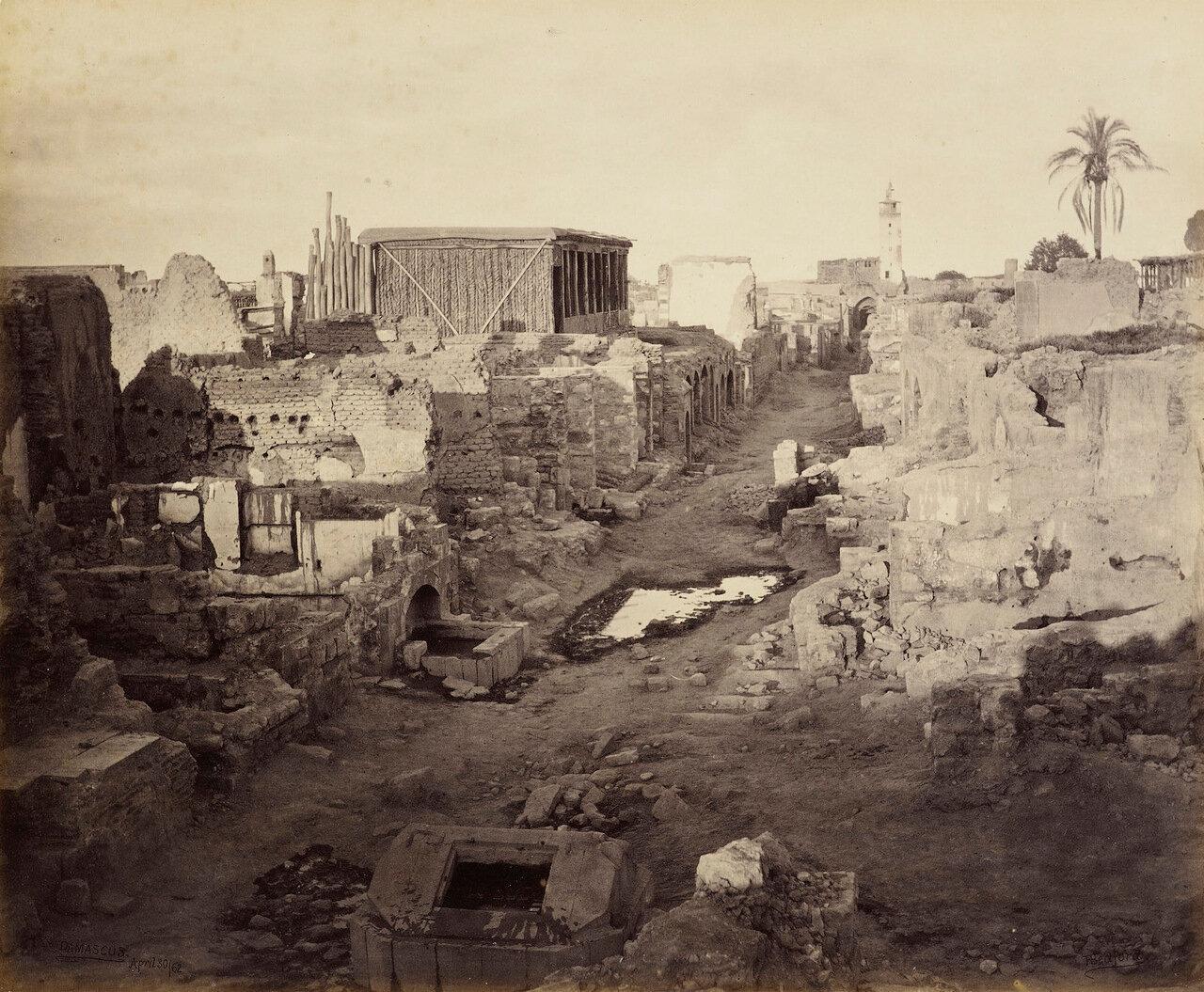 30 апреля 1862. Улица называемая Прямой, Дамаск