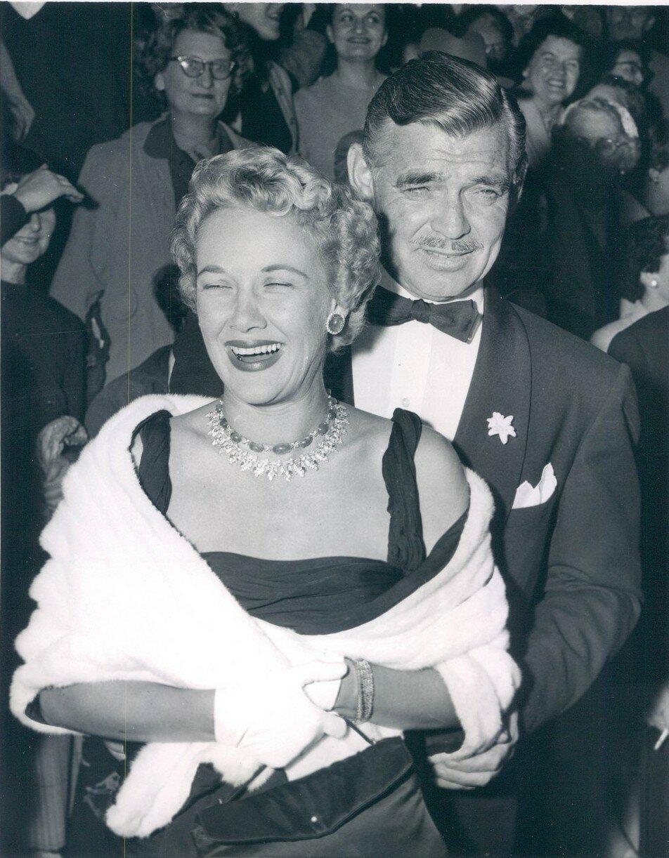 1955. Свадьба Кларка Гейбла и Кей Уильямс