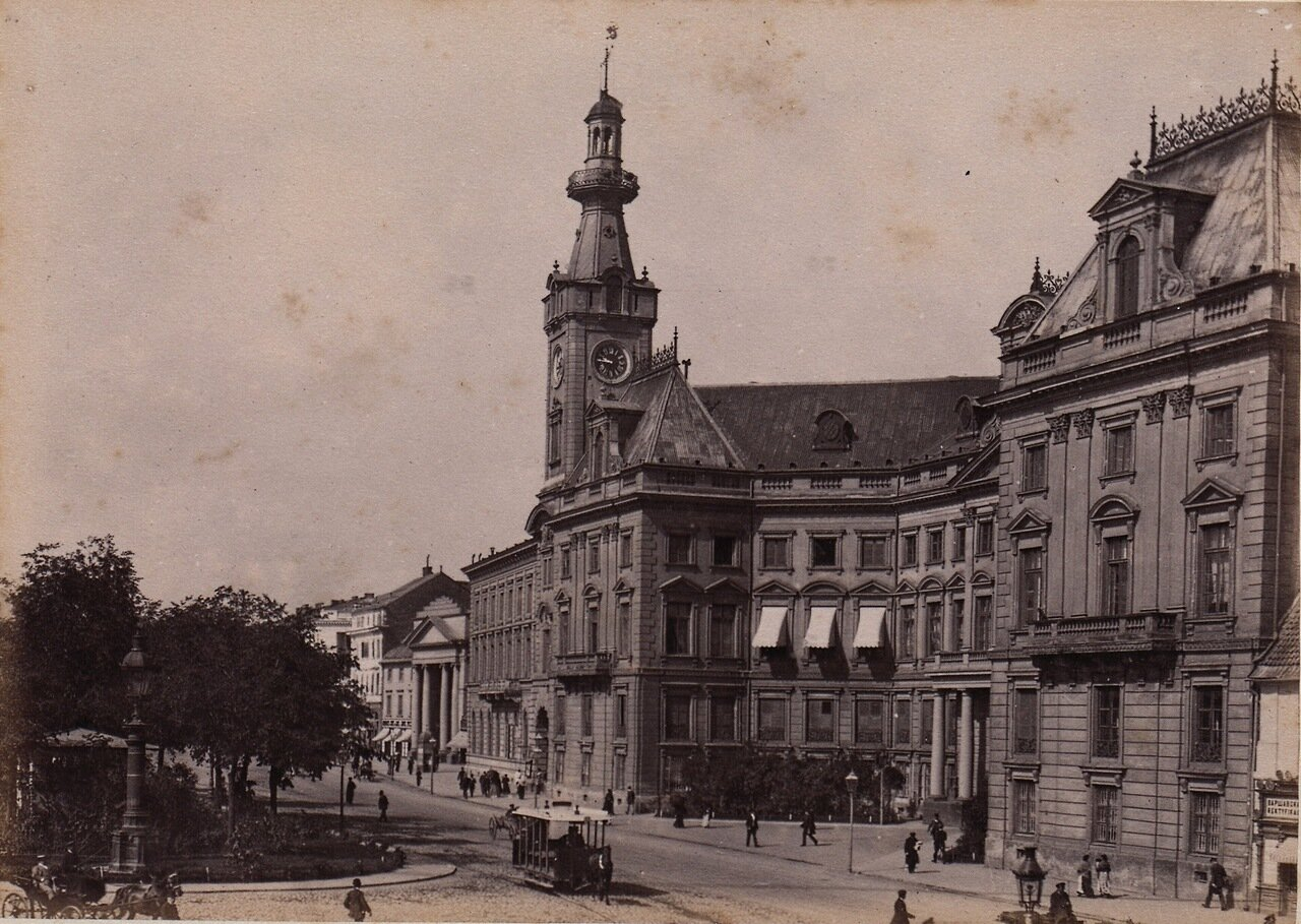 Ратуша 1880-е