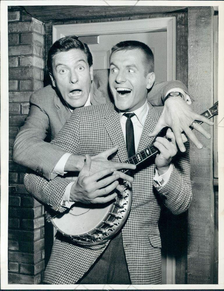 1962. Актеры Дик и Джерри Ван Дайк