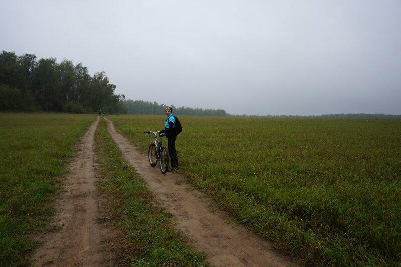 В осеннем лесу после дождя
