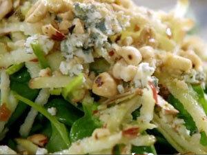 Освежающий зеленый салат