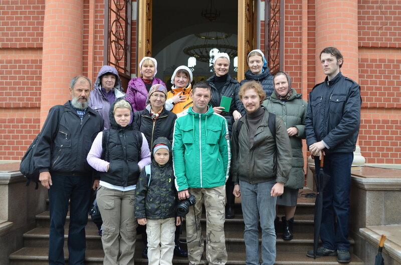 Паломничество к прп. Сергию
