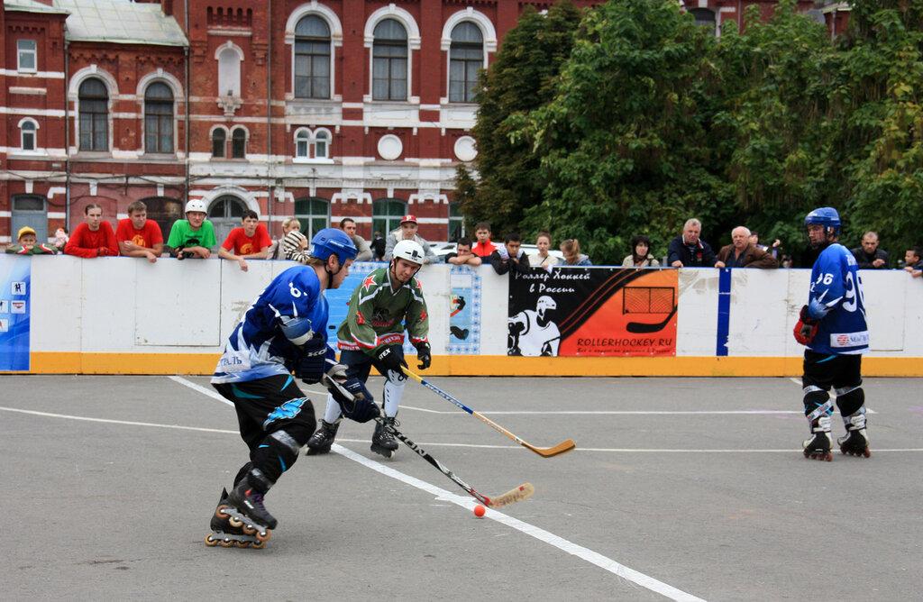 мяч хоккея на роликах фото