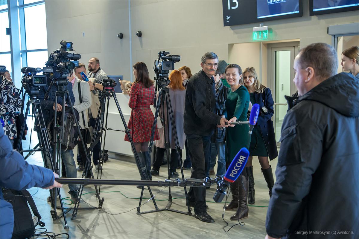 """Презентация нового ростовского аэропорта """"Платов"""". Фото: aviator-ru.livejournal.com"""