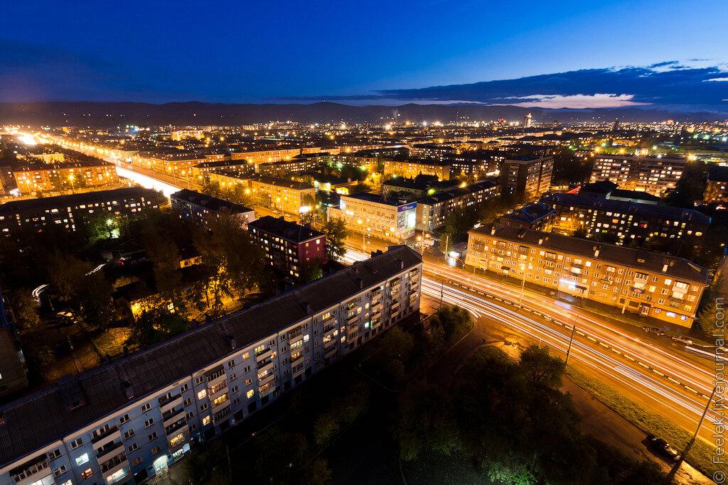 правый берег красноярска в фото