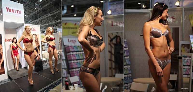 Салон белья на выставке «Текстильлегпром»