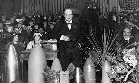 Во время интервенции Черчилль использовал химическое оружие против Советской России