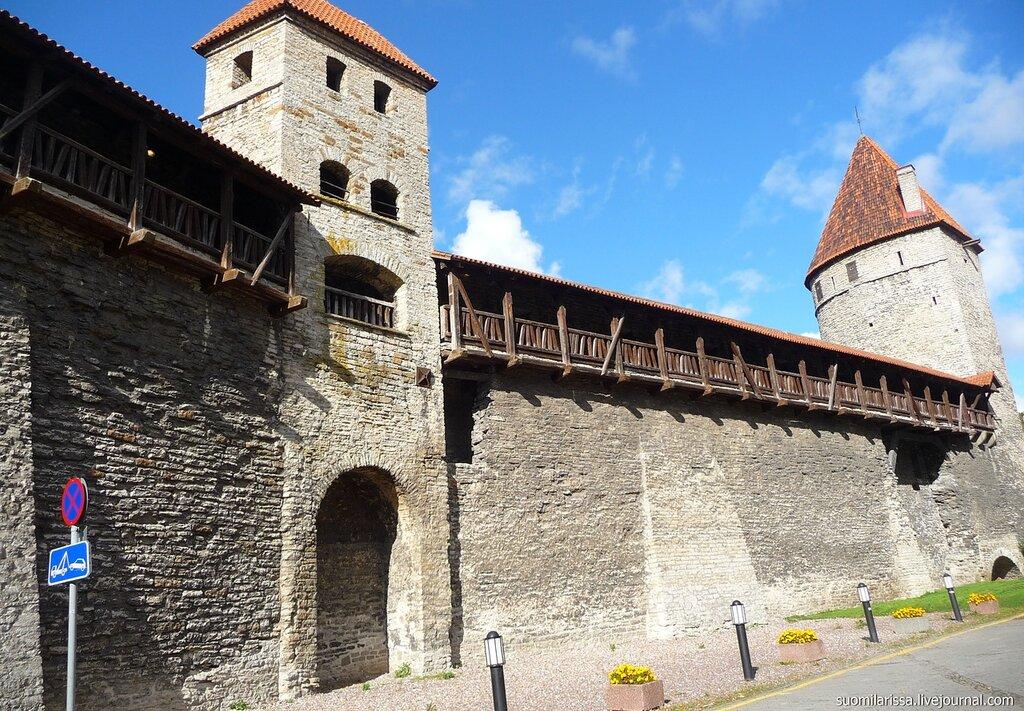 Крепостная стена Нижгорода.