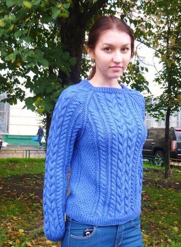 свитер авторский,ручная работа