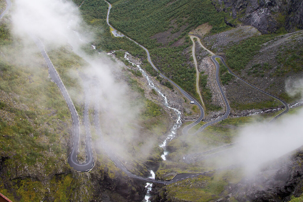 Тропа Троллей (Лестница Троллей), Норвегия