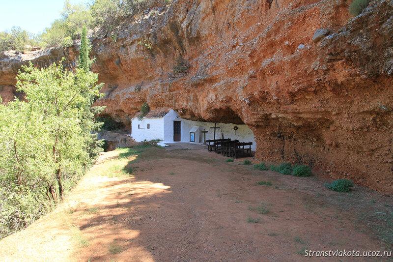 Пелопоннес, Пещера Дидима