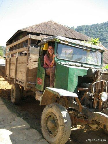 Деревенский грузовик