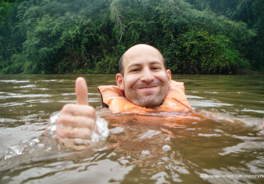 сплавляемся по реке Квай