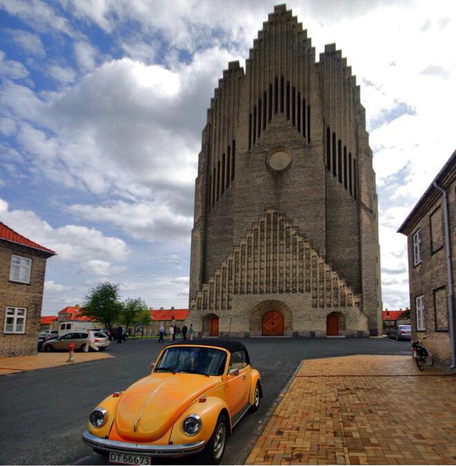 Церковь Грундтвига. Копенгаген