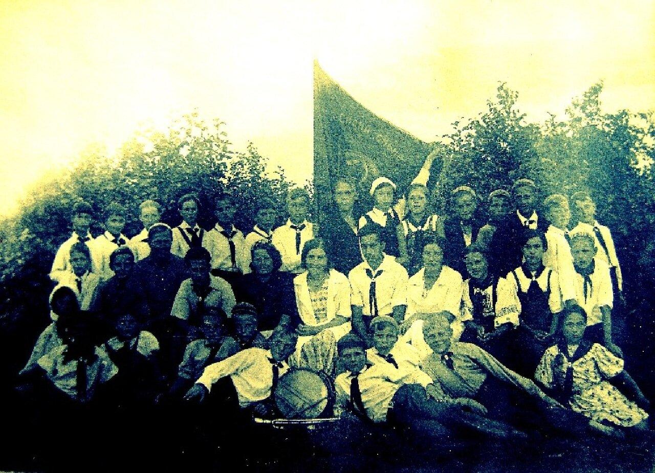 1930-е. Слет пионервожатых