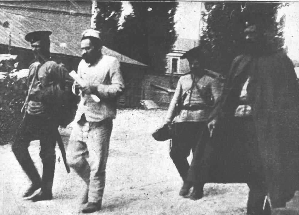 Мендель Бейлис под арестом