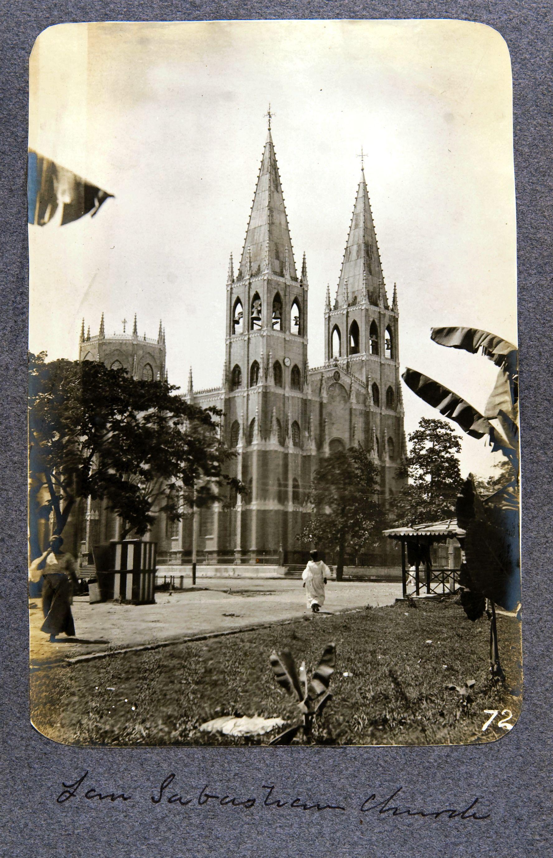 10. Манила. Церковь Святого Себастьяна
