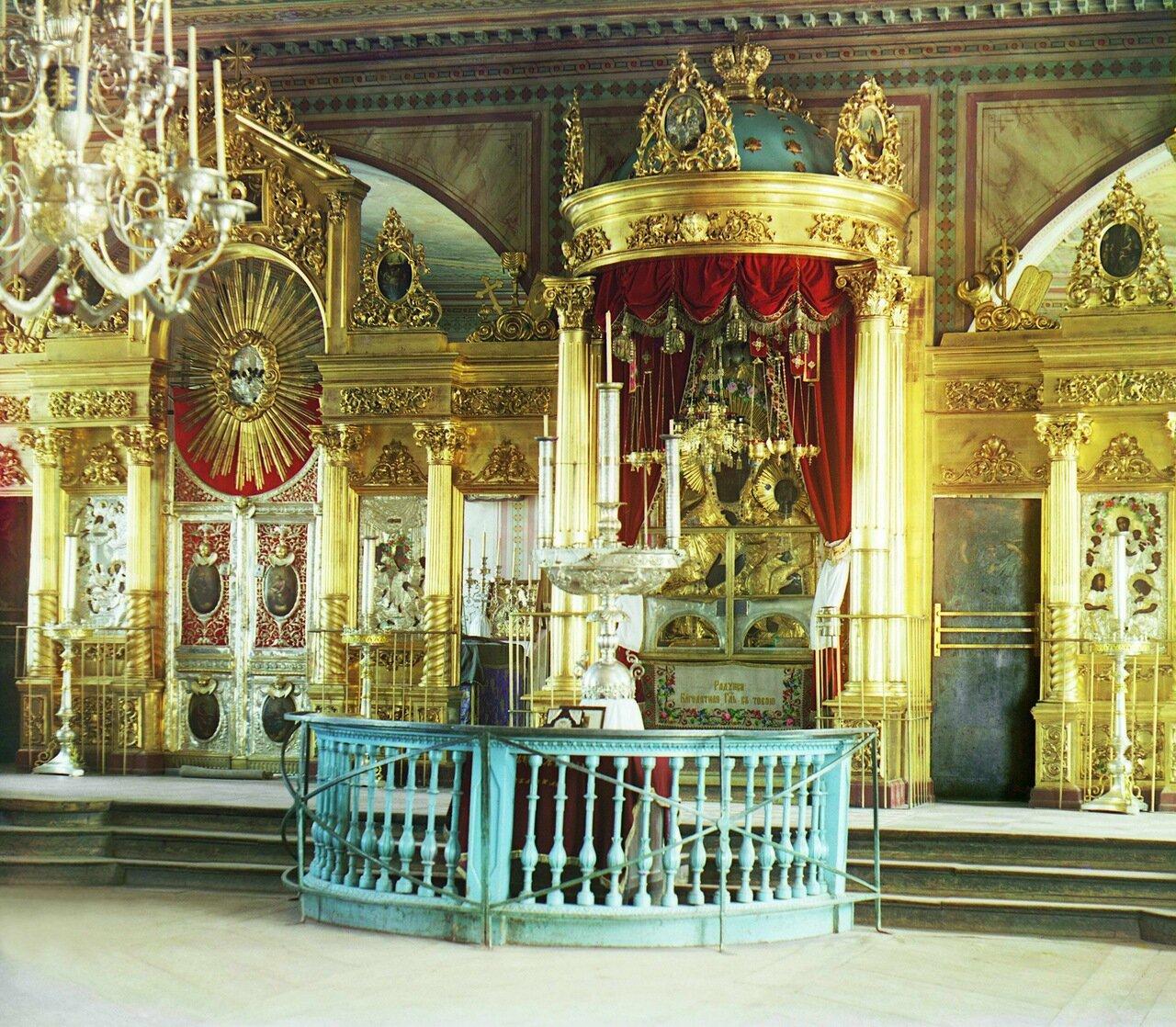 Чудотворная икона Божьей матери Одигитрии в Богоматеринском храме