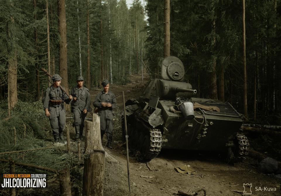 Вооружение финской армии.  ( 10 фото )