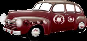 красные авто