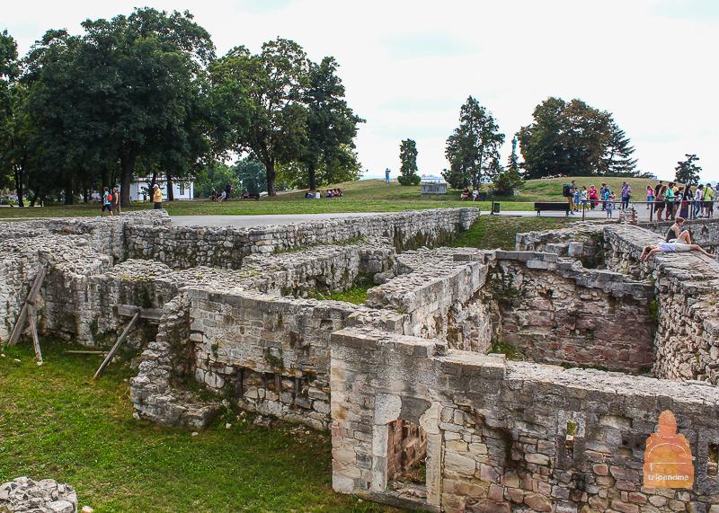 Руины замка деспота Лазаревича