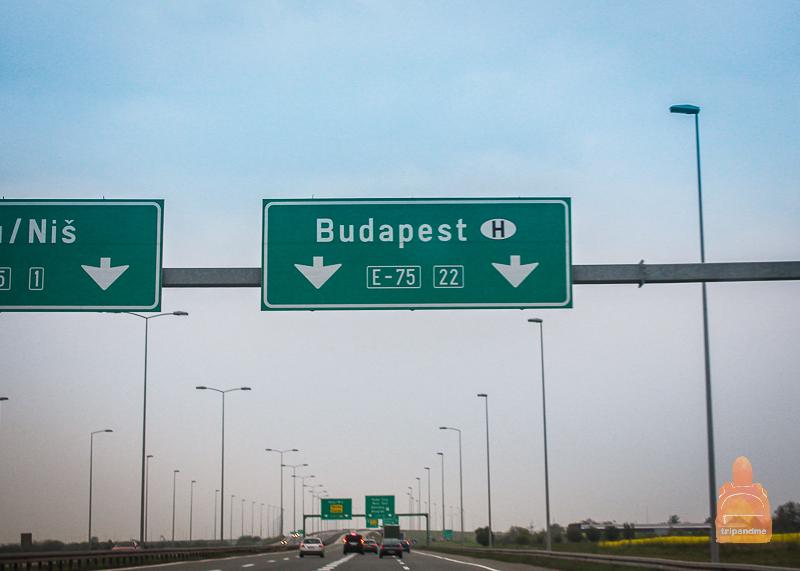 Ехать в Белград проще всего по платному автобану