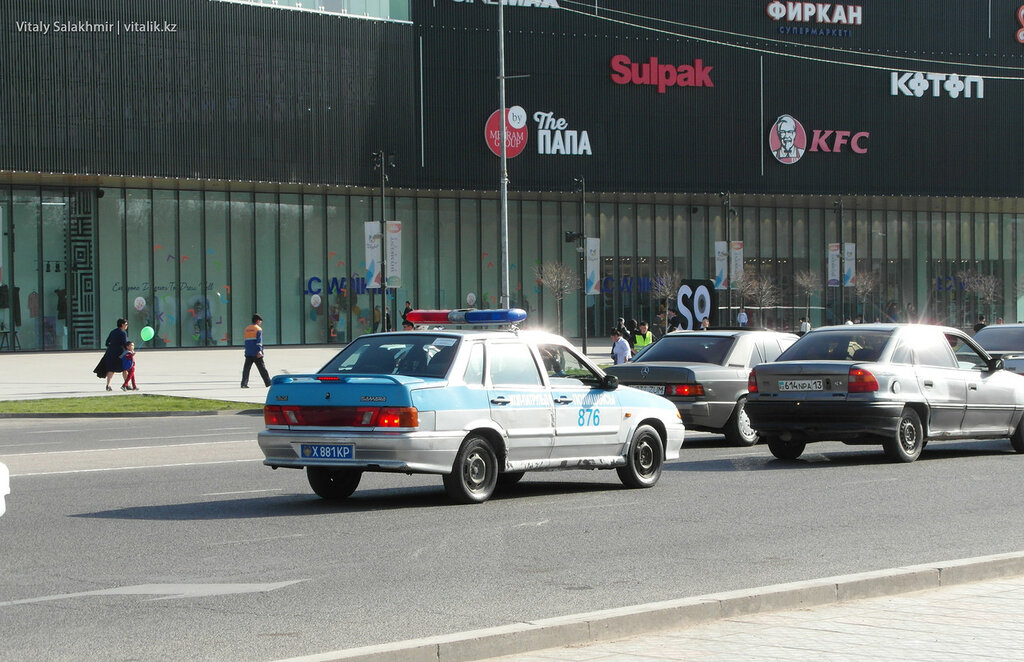 Полиция в Шымкенте