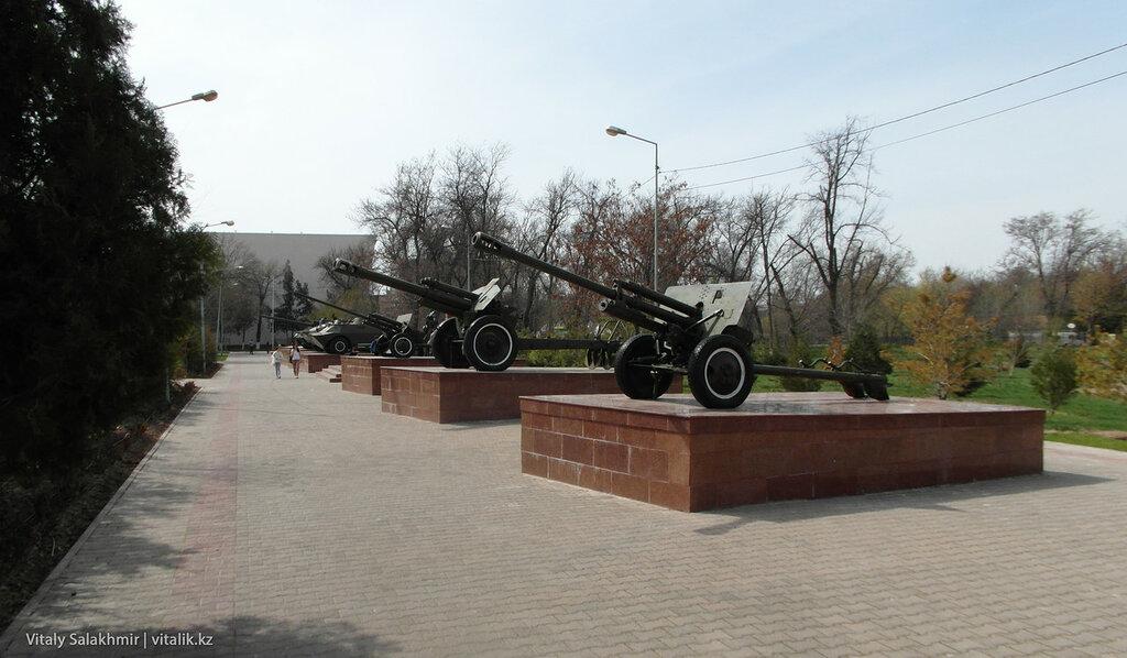 Военная техника Парк Абая Шымкент