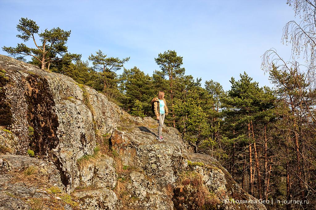 гора Чертов стул в Карелии