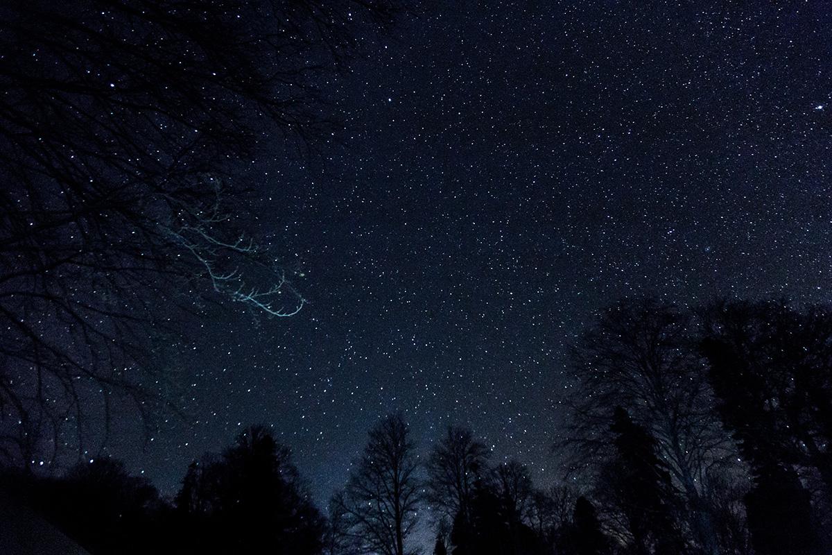 Звездная ночь на Чубе.
