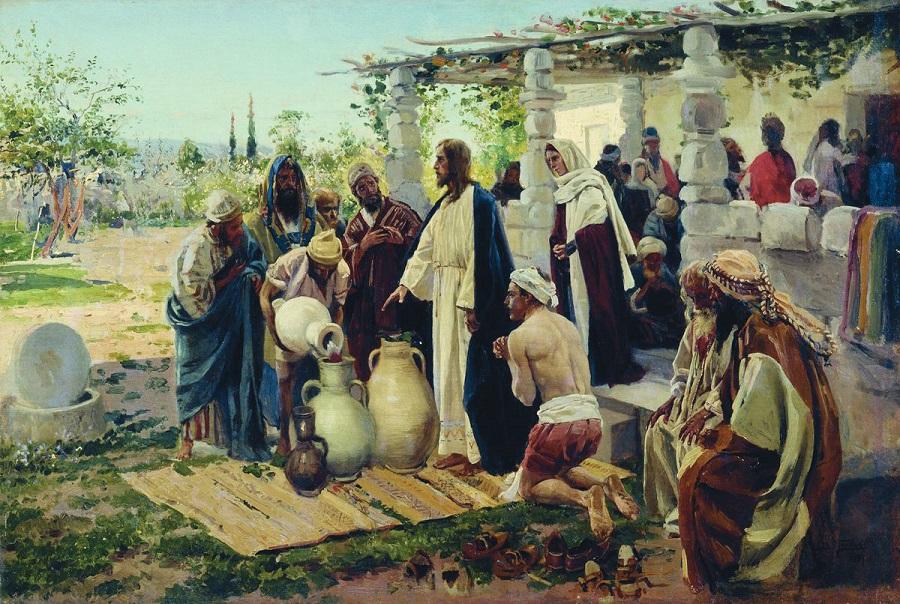 Чудо в Кане. 1887  Витебский художественный музей, Беларусь