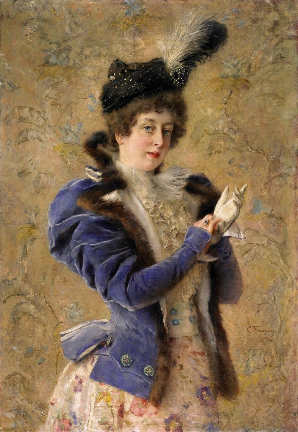 Портрет Марии Маковской (Матавтиной) Частное собрание
