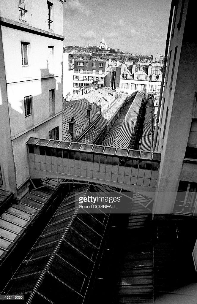 1981. Виз прохода Жуффруа из отеля Ронсэрэй в феврале. Париж